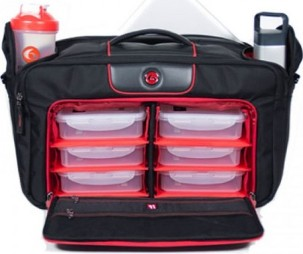 6 Pack Bags Executive Briefcase 5 Meal