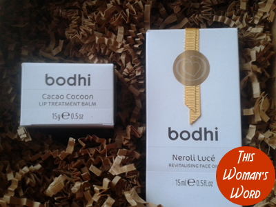 bodhi-skincare-neroli-lucé-revitalising-face-oil-cacao-cocoon-lip-treatment-balm-review