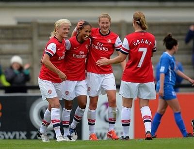 Arsenal Ladies FC v Birmingham City Ladies FC - The FA WSL