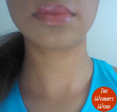 inika-lip-whips-peach-vegan-cosmetics-vegan-lipgloss-indoor-swatch