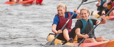 london-river-rat-race-10k-london-excel-centre-obstacles-kayaking