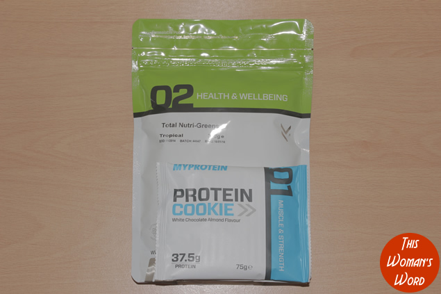 myprotein-review-nutri-greens-tropical-flavour-protein-sample-cookie-fitness