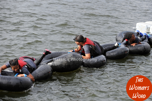 dani-bei-fit-this-womans-word-london-river-rat-race-august-2014-rubber-rings