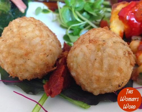 best-vegetarian-restaurant-contender-the-gate-restaurant-hammersmith-branch-arancini-a-la-contadina