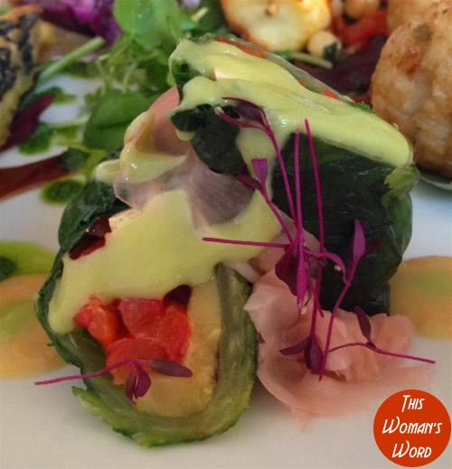 best-vegetarian-restaurant-contender-the-gate-restaurant-hammersmith-branch-japanese-rolls-starter