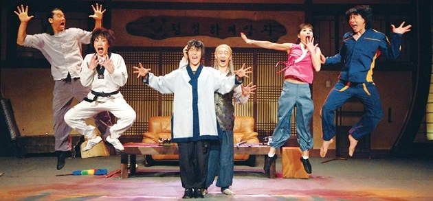 jump-a-highly-recommended-korean-martial-arts-comedy-performance-held-at-central-londons-sadlers-wells-peacock-theatre