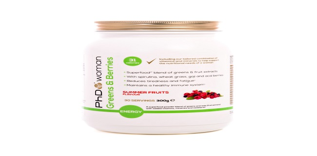 phd-woman-launches-new-superfood-blend-greens-and-berries-summer-fruits