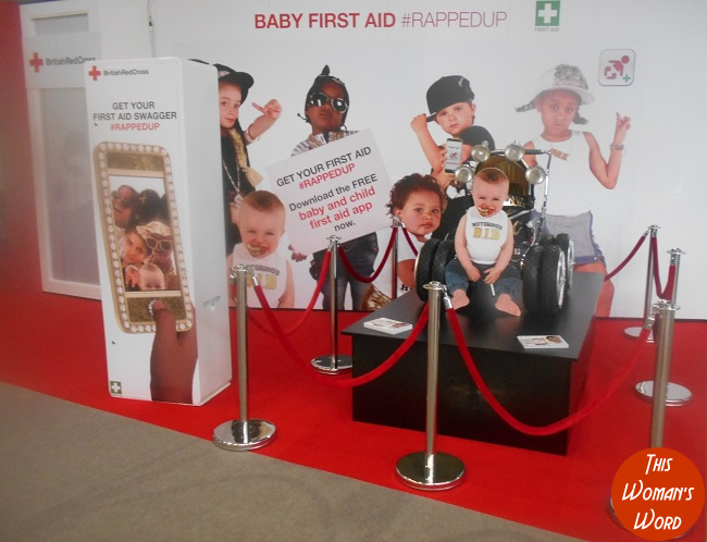 the-baby-show-kensington-olympia-2015-top-10-stands-to-check-outbritish-red-cross-baby-first-aid-rapped-up