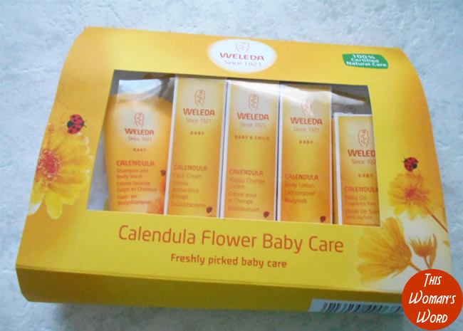 my-green-and-eco-hospital-bag-essentials-for-labour-and-birth-weleda-calendula-baby-starter-kit