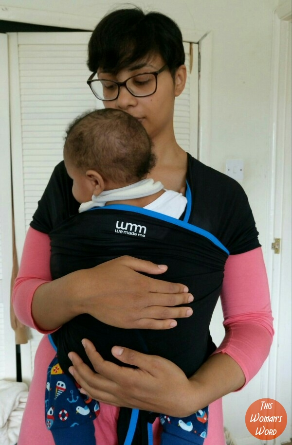 caee7070550 Babywearing With We Made Me Wuti Wrap - This Womans Word